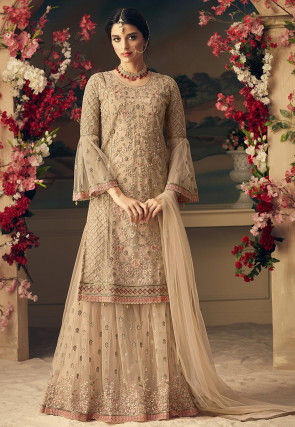 4f19b7aeae0 Beige Salwar Suit  Buy Beige Salwar Kameez for Women Online