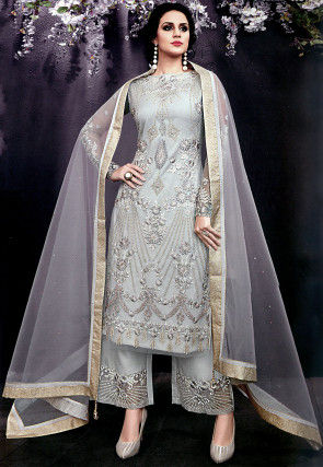 9afd06732f6 Grey Salwar Suit  Buy Grey Salwar Kameez for Women Online
