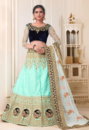 7b898433e Silk Lehenga Choli. Shop By