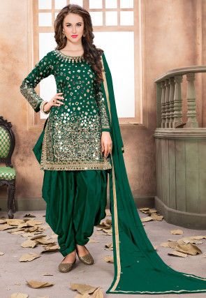 9a48f420db Art Silk Salwar Kameez: Buy Art Silk Salwar Suits Online | Utsav Fashion