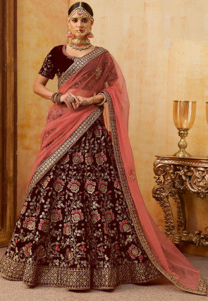 5d12fa968a Bridal Lehenga | Buy Indian Designer Bridal Lehenga Cholis Online