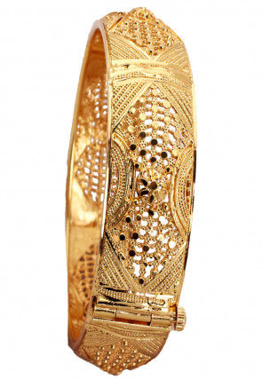 Gold Plated Openable Bangle