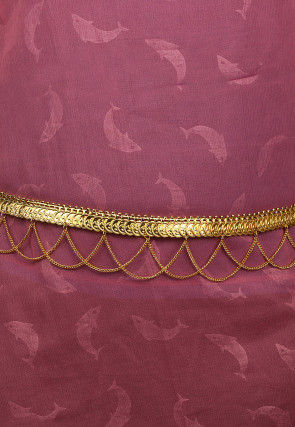 Golden Polished Waist Chain