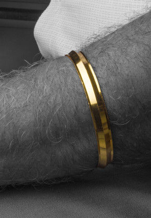 Golden Polished Men Kada