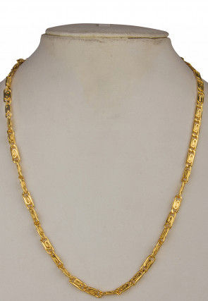 Golden Polished Men Neck Chain