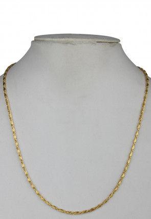 Golden Polished Men Neck Chain