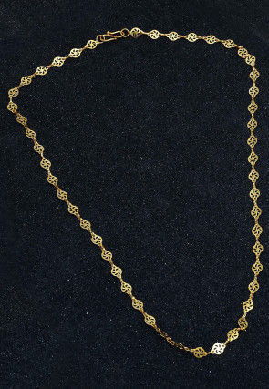 Golden Polished Neck Chain