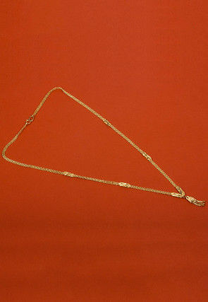 Golden Polished Necklace