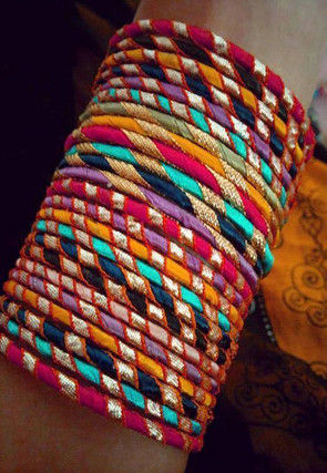 Gota Lace Set of Bangles