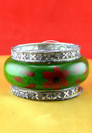 Hand Painted Bangles Set