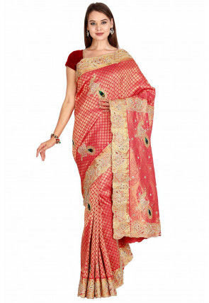 Kanchipuram Saree in Red