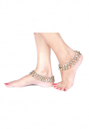 Stone Studded Anklet