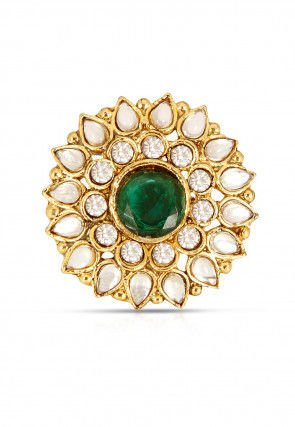 Stone Studded Adjustable Ring