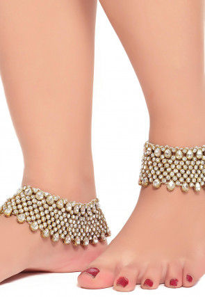 pearl gold starfish newchic silver anklets for anchor bohemian womens c leather anklet