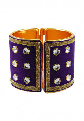 Stone Studded Openable Bangle