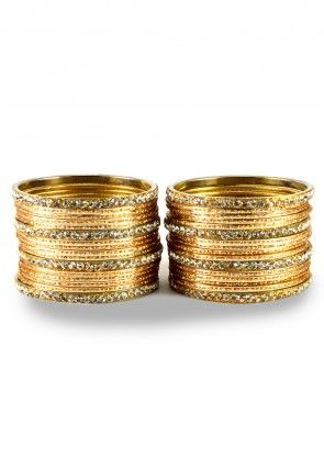 accessories fashion set bangles of multicolour product nk dsc gold