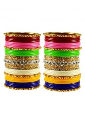 indian ginni pin set of bangles coin gold fashion plated pcs bollywood lakshmi
