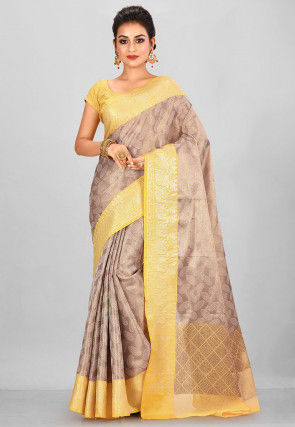Kanchipuram Saree in Antique