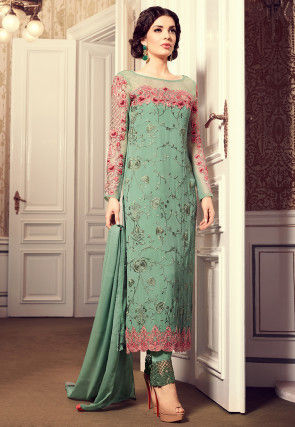 372ba34773f Georgette Suits Online  Buy Georgette Salwar Kameez for Women ...