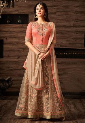 909ed728f53749 Art Silk Salwar Kameez  Buy Art Silk Salwar Suits Online