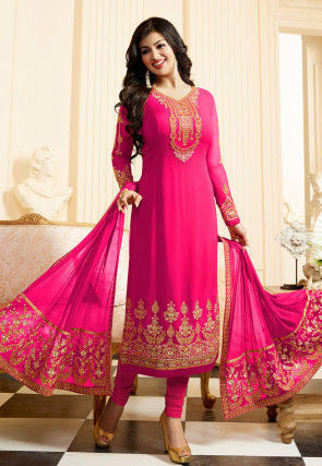 c8716a2a75 Straight Cut Salwar Kameez: Buy Straight Cut Suits Online | Utsav ...