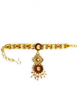 Kundan Adjustable Armlet