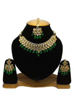 Kundan Choker Necklace Set