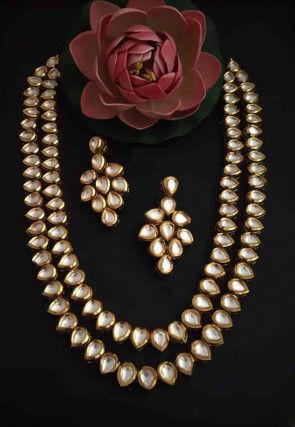 Kundan Layered Necklace Set