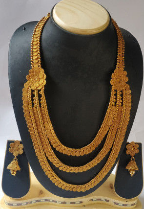 Layered Temple Necklace Set