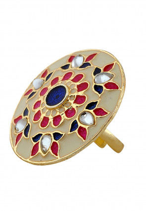 Meenakari Adjustable Ring