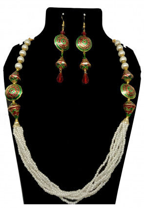 Meenakari Layered Necklace Set
