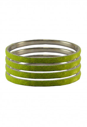 Metallic Set of Bangles