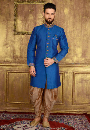 4fbeba93b2109a Sherwani For Men: Latest Wedding Sherwani Designs for Groom | Utsav ...