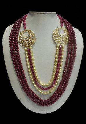 Beaded Layered Kanthimala