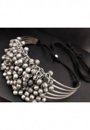 Oxidised Choker Necklace