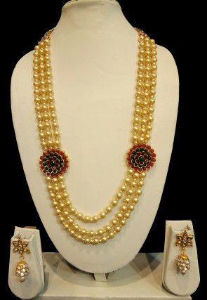 Pacchikari Long Necklace Set