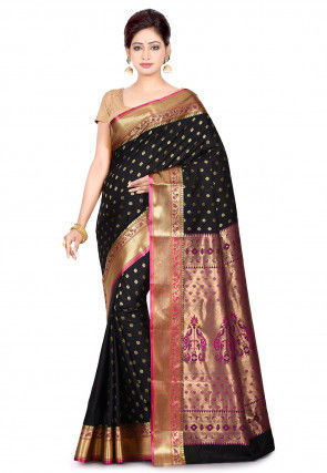 Paithani Saree in Black