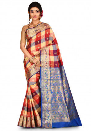 Paithani Saree in Multicolor