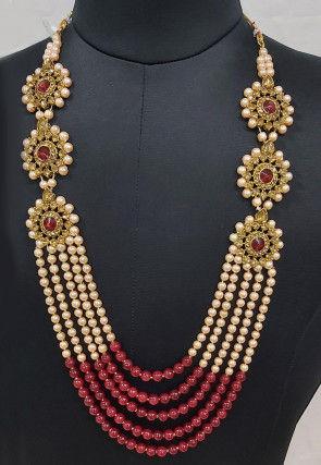 Pearl Layered Kanthimala