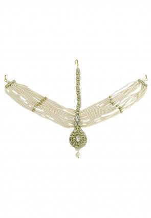 Pearl Layered Matha Patti
