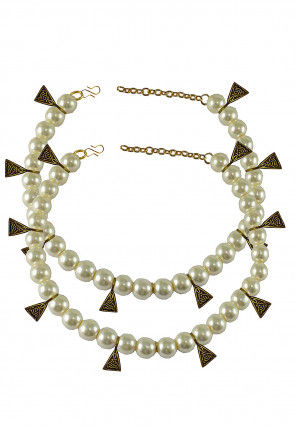 Pearl Pair of Anklets