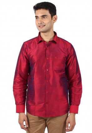 6656b5fcce25c4 Shirts - Men s Ethnic Wear  Buy Indian Traditional Mens Dresses Online