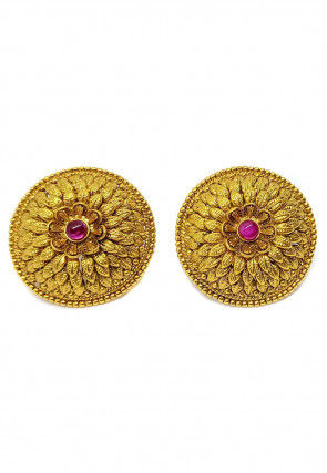 Polki Studded Stud Earrings