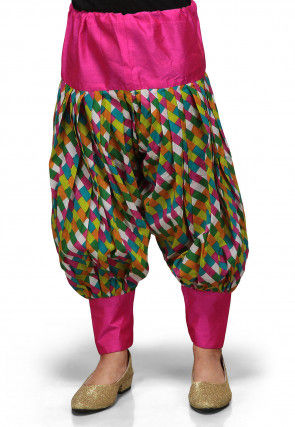 Printed Cotton Jasmine Pant in Multicolor