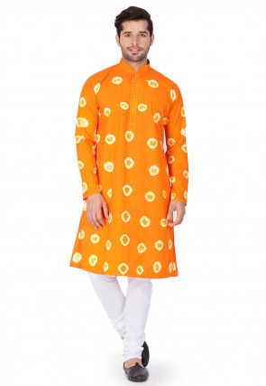 3cd093aab1 Orange - Kurta - Men's Ethnic Wear: Buy Indian Traditional Mens ...