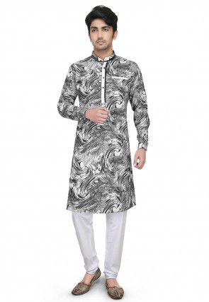 484a8ba19ad Abstract Print - Kurta Pajama - Men s Ethnic Wear  Buy Indian Traditional  Mens Dresses Online