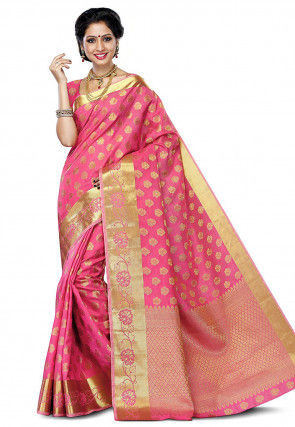 fcb52671f7 Wedding Sarees Online: Buy Latest Designer Sarees For Wedding At Utsav  Fashion