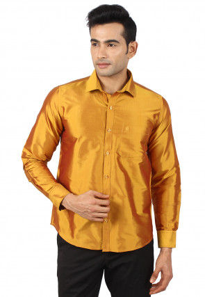 f24a160dc Silk - Shirts - Men's Ethnic Wear: Buy Indian Traditional Mens Dresses  Online