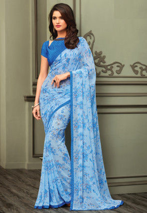 9419daef6e3dbc Floral Print Sarees: Buy Latest Designs With Exciting Discounts ...