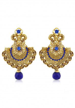 Stone Studded Chandbali Earring
